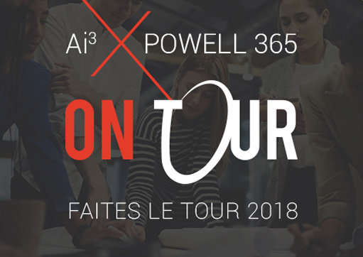 Ai³ et Powell 365 on tour 2018